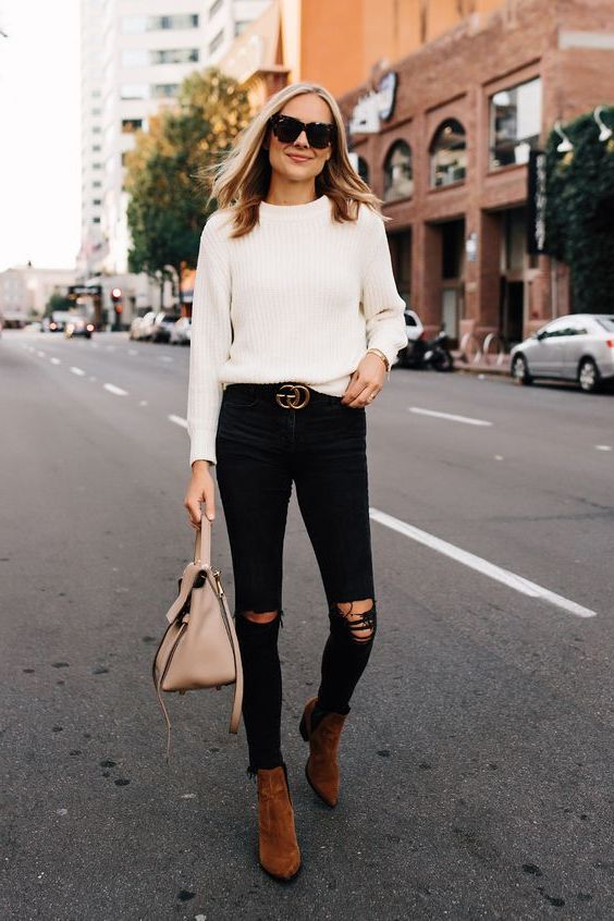 What To Wear With Black Ripped Jeans 2019 , OnlyWardrobe.com
